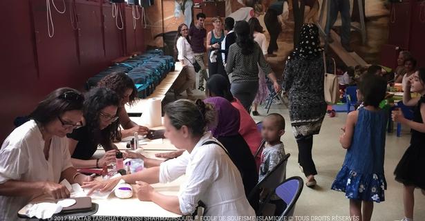 association-soufie-humanitaire-distribution-produits-hygiene-bebe-famille-besoin-manucure