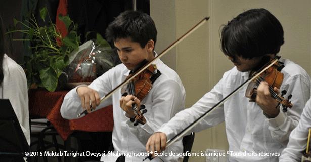 Musique soufie au Forum 104